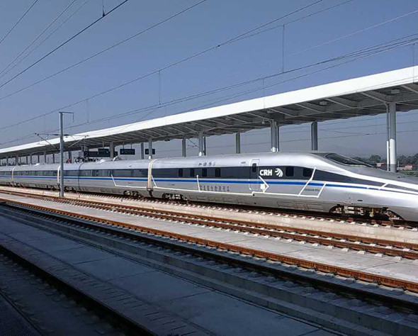 Key project - Datong-Xi'an High-speed Railway